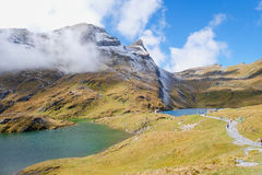 Πρώτα βουνά, Ελβετία Στοκ φωτογραφία με δικαίωμα ελεύθερης χρήσης