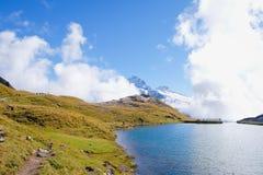 Πρώτα βουνά, Ελβετία Στοκ Φωτογραφία