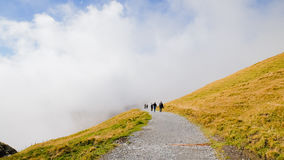 Πρώτα βουνά Ελβετία Στοκ Εικόνες