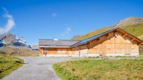 Πρώτα βουνά Ελβετία Στοκ Φωτογραφίες