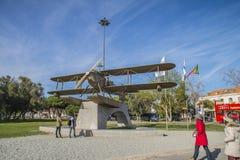 Πρώτα εναέριο πέρασμα του νότιου Ατλαντικού Στοκ Φωτογραφίες