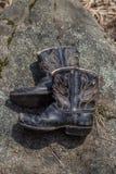 Πρώτες μπότες Στοκ φωτογραφία με δικαίωμα ελεύθερης χρήσης