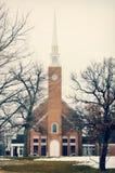 Πρώτη εκκλησιαστική εκκλησία Στοκ Φωτογραφία