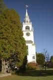 Πρώτη εκκλησιαστική εκκλησία Hancock Στοκ Εικόνα