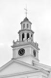 Πρώτη εκκλησιαστική εκκλησία - Woodstock, Βερμόντ Στοκ Εικόνες