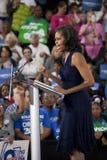 Πρώτη κυρία Michelle Obama Στοκ εικόνα με δικαίωμα ελεύθερης χρήσης