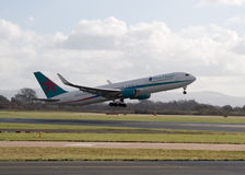 Πρώτοι εναέριοι διάδρομοι Boeing 767-300 επιλογής Στοκ Εικόνα