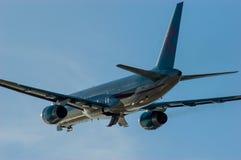Πρώτοι εναέριοι διάδρομοι Boeing 757 επιλογής Στοκ εικόνα με δικαίωμα ελεύθερης χρήσης