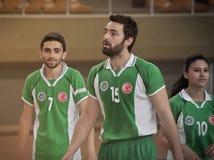 Πρώτοι ημιτελικοί Korfball πανεπιστημίων - Τουρκία Στοκ Φωτογραφία