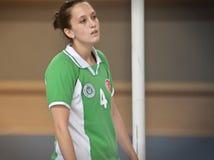 Πρώτοι ημιτελικοί Korfball πανεπιστημίων - Τουρκία Στοκ Εικόνα