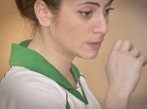 Πρώτοι ημιτελικοί Korfball πανεπιστημίων - Τουρκία Στοκ φωτογραφία με δικαίωμα ελεύθερης χρήσης