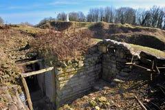 πρώτος πολεμικός κόσμος vauquois Στοκ Εικόνες