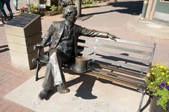 Πρώτος πρωθυπουργός ο Sir John Α Άγαλμα Macdonald - Charlottetown - Καναδάς στοκ εικόνα