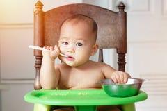 Πρώτο γεύμα μωρών Στοκ Φωτογραφίες