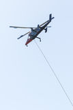 Πρώτο ελικόπτερο πυρκαγιάς απάντησης Στοκ Φωτογραφία