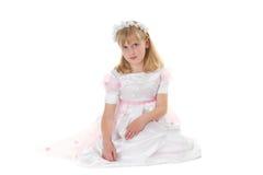 πρώτο κορίτσι φορεμάτων κ&omicro Στοκ Φωτογραφίες