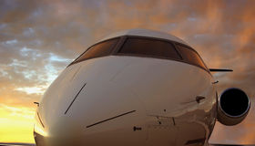 πτήση βραδιού στοκ εικόνα με δικαίωμα ελεύθερης χρήσης