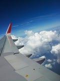 Πτήση πέρα από τη Σιγκαπούρη Στοκ φωτογραφία με δικαίωμα ελεύθερης χρήσης