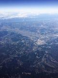 Πτήση στις διακοπές Στοκ εικόνα με δικαίωμα ελεύθερης χρήσης