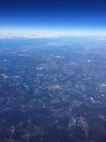 Πτήση στις διακοπές Στοκ φωτογραφία με δικαίωμα ελεύθερης χρήσης