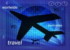 πτήση στο worlwide Στοκ Εικόνες