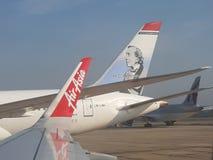 Πτήση της Ασίας αέρα μια συμπαθητική ηλιόλουστη ημέρα στοκ φωτογραφία με δικαίωμα ελεύθερης χρήσης