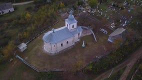 Πτήση της κάμερας πέρα από τη Ορθόδοξη Εκκλησία απόθεμα βίντεο