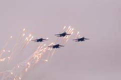 Πτήση SU-27 Στοκ φωτογραφίες με δικαίωμα ελεύθερης χρήσης