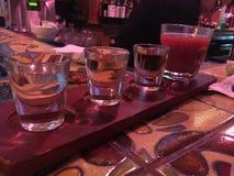 Πτήση Tequila Στοκ φωτογραφία με δικαίωμα ελεύθερης χρήσης