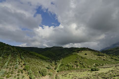 Πτυχές των παστόρων στην επαρχία του lula στοκ εικόνες με δικαίωμα ελεύθερης χρήσης
