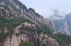 πτυχές anhui και ο δύο της Κίνας πολιτισμικών κληρονομιών huangshan κόσμος επαρχιών βουνών φυσικός Στοκ Φωτογραφίες
