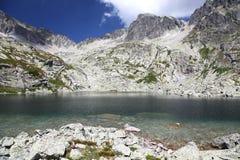 5 πτυχές Spisskych - tarns σε υψηλό Tatras, Σλοβακία στοκ φωτογραφία με δικαίωμα ελεύθερης χρήσης