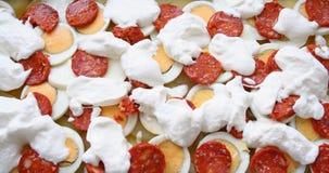 πτυχωμένη πατάτα Στοκ εικόνες με δικαίωμα ελεύθερης χρήσης