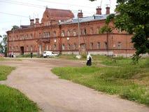 Πτωχοκομείο στο έδαφος του μοναστηριού Valaam στοκ εικόνες