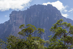 Πτώσεις αγγέλου στη Βενεζουέλα Στοκ εικόνα με δικαίωμα ελεύθερης χρήσης