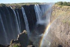 Πτώσεις Βικτώριας, που λαμβάνονται στη Ζιμπάμπουε Στοκ Εικόνες