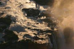 πτώσεις Βικτώρια Ζιμπάπου&e Στοκ εικόνα με δικαίωμα ελεύθερης χρήσης