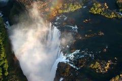 πτώσεις Βικτώρια Ζιμπάπου&e Στοκ φωτογραφίες με δικαίωμα ελεύθερης χρήσης