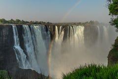πτώσεις Βικτώρια Ζιμπάπου&e στοκ φωτογραφία με δικαίωμα ελεύθερης χρήσης