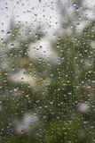Πτώσεις βροχής Στοκ φωτογραφίες με δικαίωμα ελεύθερης χρήσης