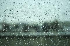 Πτώσεις νερού βροχής Στοκ Εικόνα