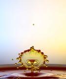 Πτώσεις νερού ραντίσματος Στοκ φωτογραφία με δικαίωμα ελεύθερης χρήσης