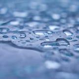 Πτώσεις νερού, macroperspective Στοκ Φωτογραφίες