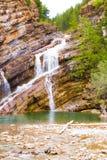 Πτώσεις νερού Waterton, Waterton, Καναδάς Στοκ φωτογραφία με δικαίωμα ελεύθερης χρήσης