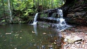 Πτώσεις ποταμών βράχου - ανώτερη χερσόνησος του Μίτσιγκαν απόθεμα βίντεο