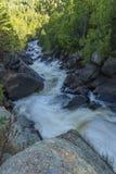 Πτώσεις ποταμών λευκών Στοκ Φωτογραφία
