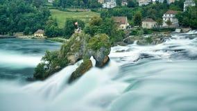 πτώσεις Ρήνος Ελβετία στοκ εικόνες με δικαίωμα ελεύθερης χρήσης