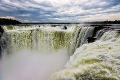 Πτώσεις της Αργεντινής Iguazu Στοκ Φωτογραφίες