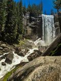 Πτώσεις της Νεβάδας, yoesmite εθνικό πάρκο, ΗΠΑ στοκ εικόνες με δικαίωμα ελεύθερης χρήσης