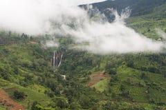 Πτώσεις της Σρι Λάνκα Ramboda Στοκ φωτογραφία με δικαίωμα ελεύθερης χρήσης